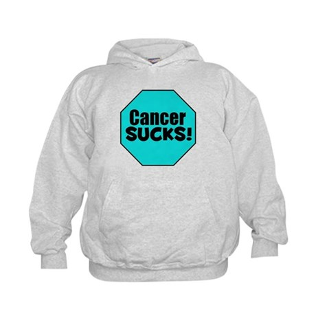 Cancer Sucks Kids Hoodie