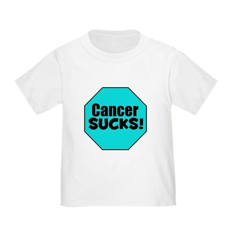 Cancer Sucks Toddler T-Shirt