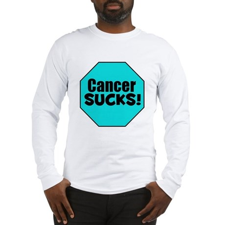 Cancer Sucks Long Sleeve T-Shirt
