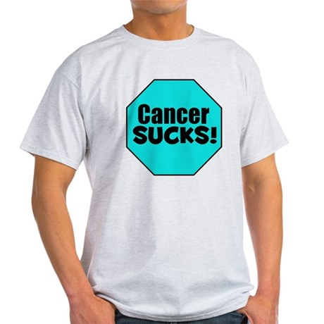 Cancer Sucks Light T-Shirt