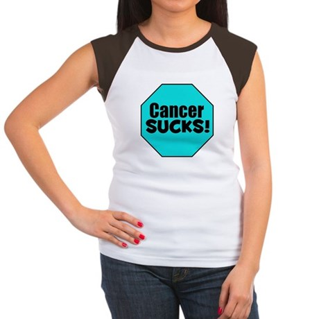 Cancer Sucks Women's Cap Sleeve T-Shirt