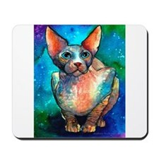Sphynx cat #1 Mousepad