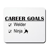 Welder Career Goals Mousepad