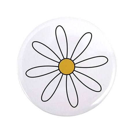 "Daisy 3.5"" Button"