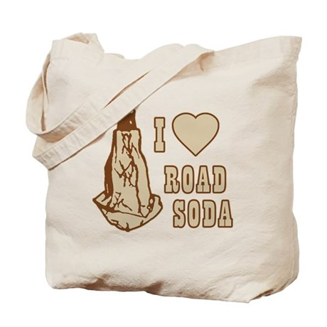 I Love Road Soda Tote Bag