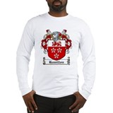 Hamilton Family Crest Long Sleeve T-Shirt
