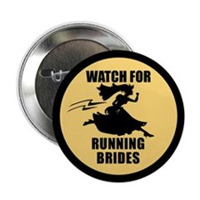 "Running Bride 2.25"" Button"