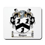 Hayes Family Crest Mousepad