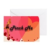 Pin-Up Pinch Me Valentine Card