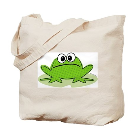 Cute Frog Tote Bag