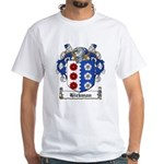 Hickman Family Crest White T-Shirt