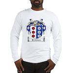 Hickman Family Crest Long Sleeve T-Shirt