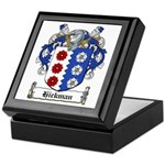 Hickman Family Crest Keepsake Box