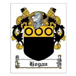 Hogan Family Crest Small Poster