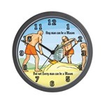 3 Ruffians Wall Clock