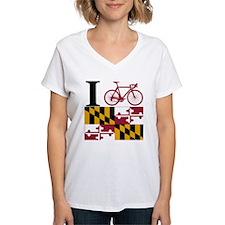 I BIKE Maryland Shirt