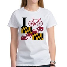 I BIKE Maryland Tee