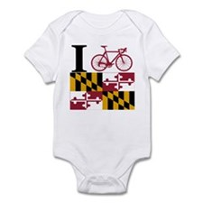 I BIKE Maryland Infant Bodysuit