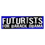 Futurists for Barack Obama sticker