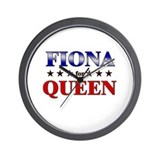 FIONA for queen Wall Clock