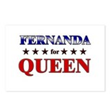 FERNANDA for queen Postcards (Package of 8)