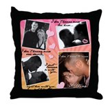 Alyssa ex3 Throw Pillow