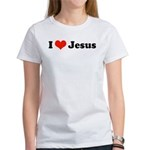I Love Jesus Women's T-Shirt