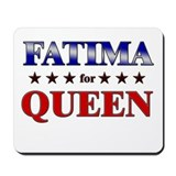 FATIMA for queen Mousepad