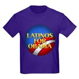 Latinos For Obama T