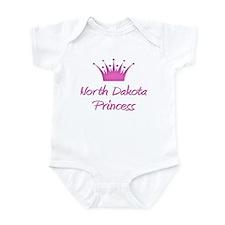 North Dakota Princess Infant Bodysuit