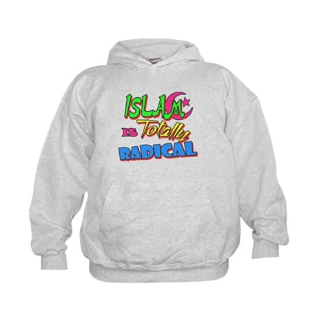 Islam Is Totally Radical Kids Hoodie
