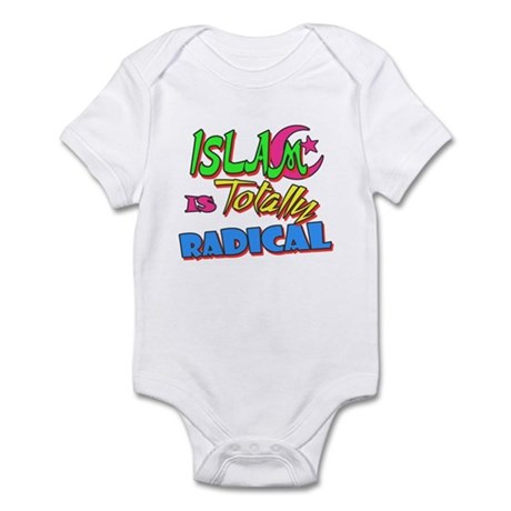 Islam Is Totally Radical Infant Bodysuit