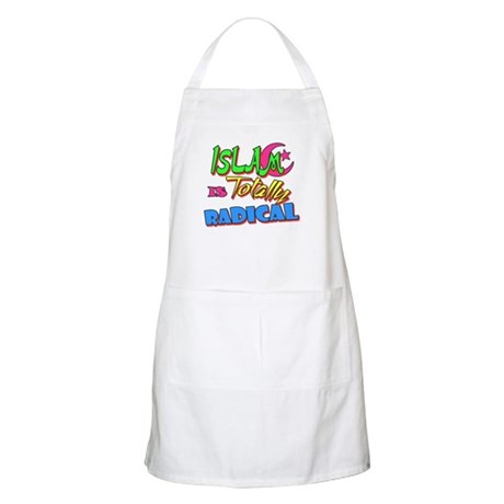 Islam Is Totally Radical BBQ Apron