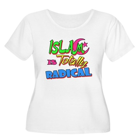Islam Is Totally Radical Womens Plus Size Scoop N