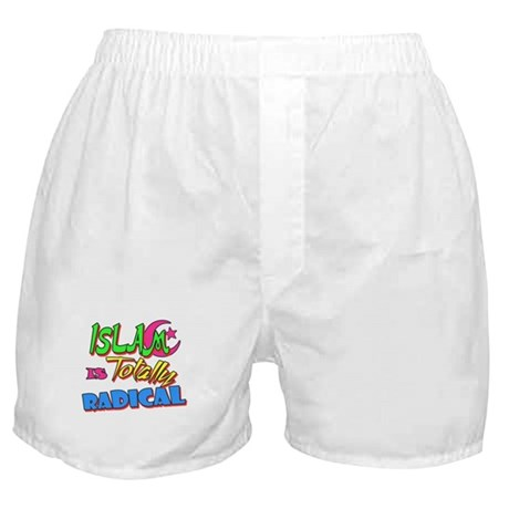 Islam Is Totally Radical Boxer Shorts