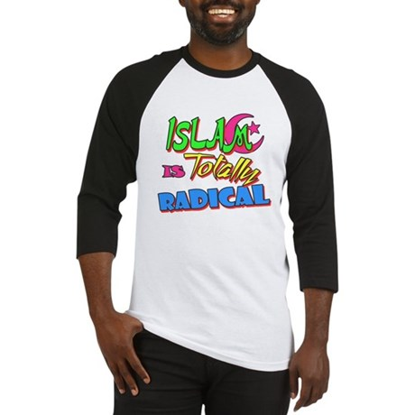 Islam Is Totally Radical Baseball Jersey