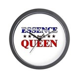 ESSENCE for queen Wall Clock
