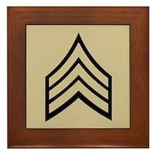 Sergeant<BR> Framed Tile
