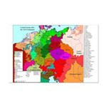 1634 Peace Map Mini Poster Print