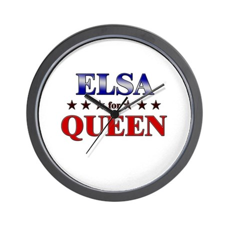 ELSA for queen Wall Clock