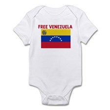FREE VENEZUELA Infant Bodysuit