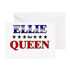 ELLIE for queen Greeting Cards (Pk of 20)