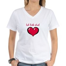 German I love you Shirt