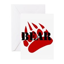BEAR/RED PAW Greeting Cards (Pk of 20)