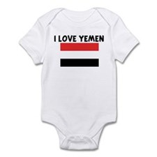 I LOVE YEMEN Infant Bodysuit