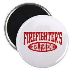 Firefighter's Girlfriend Magnet
