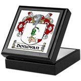 Donovan Coat of Arms Keepsake Box