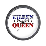 EILEEN for queen Wall Clock