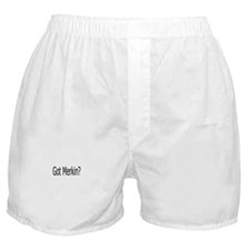 Merkin no Patch Boxer Shorts