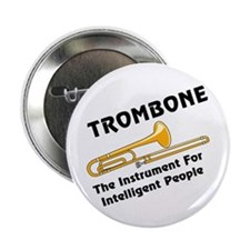"Trombone Genius 2.25"" Button (10 pack)"
